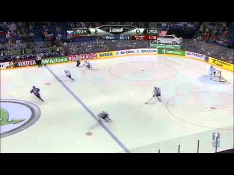 Slovensko 4:1 USA MS 2013