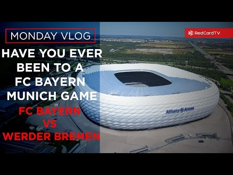 Vlog Germany: Have You EVER Been To A FC Bayern Munich Game? FC Bayern 6-0 Werder Bremen Highlights