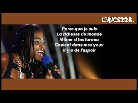 VALENTINE ALVARES- MO KPOKPO LE- Lyrics video( French version)