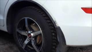 видео Симметричный ненаправленный рисунок протектора шин