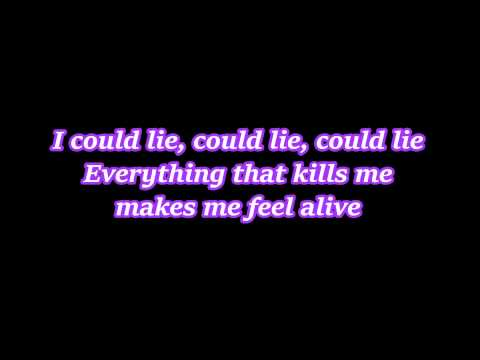 Counting Stars (cover by Alex Goot & Chrissy Costanza) Lyrics
