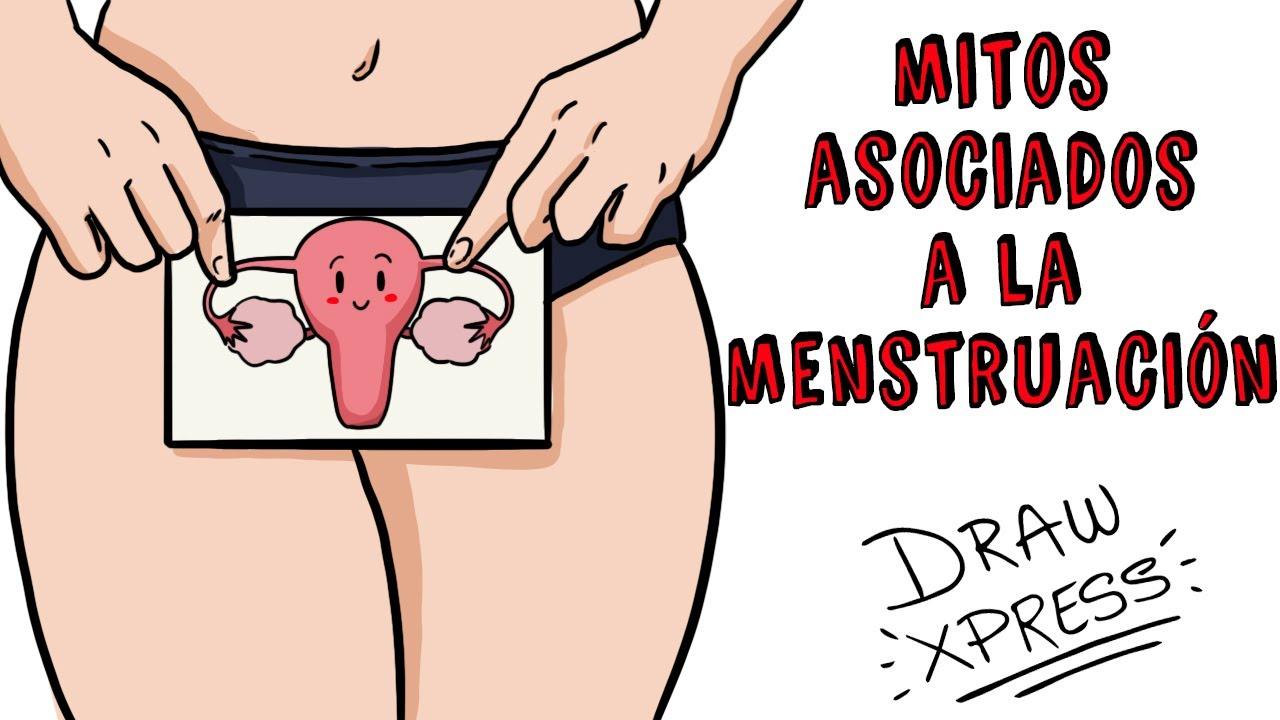 MITOS ASOCIADOS A LA MENSTRUACIÓN | Draw My Life