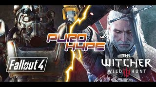 Puro Hype: The Witcher 3 vs Fallout 4