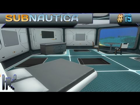 Let's Play Subnautica - Episode 15: More Base Design & Making Living Quarters