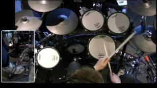 Trinity Guildhall Drumset Grade 3 - Rudimental Study 1 (Lefty Flip)