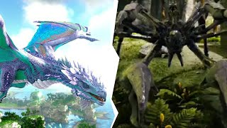 We Got Our First TECH Dinosaur In Ark Crystal Isles | JeromeACE