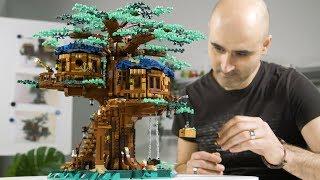 The BIGGEST LEGO Ideas set ever!? | LEGO Treehouse Designer Video | 21318