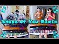 Ed Sheeran Shape Of You Trumpet Duet Piano Beatbox Remix mp3