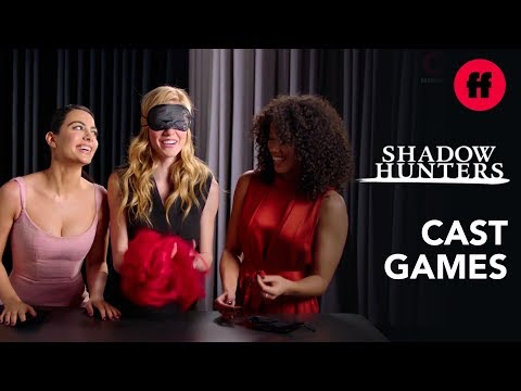 """Shadowhunters Cast Playing Games 