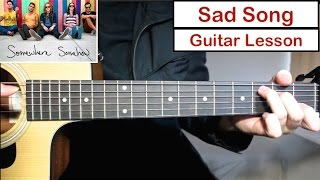 Baixar We The Kings - Sad Song | Guitar Lesson (Tutorial) How to play Chords