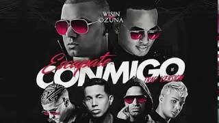 Escápate Conmigo Remix - Wisin Ft Ozuna, Bad Bunny, Arcangel, De La Ghetto, Noriel, Almighty.