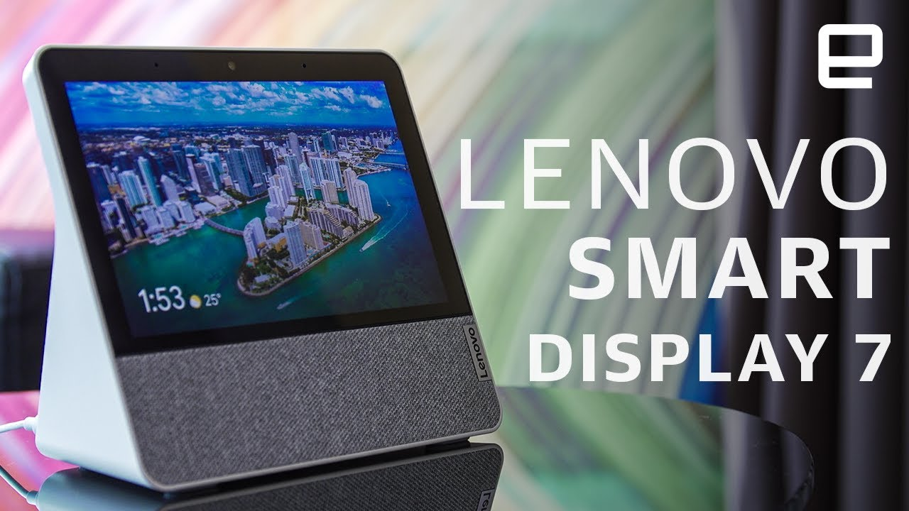 Lenovo Smart Display 7 Hands-On: Get more Google for less
