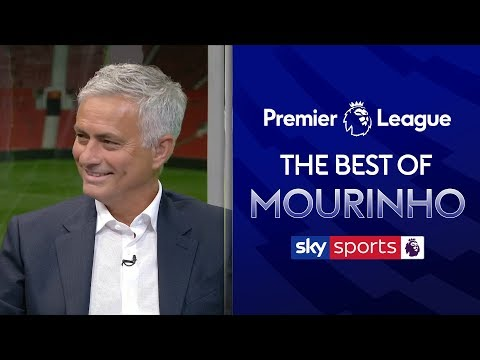 The Best of Jose Mourinho | Manchester United 4-0 Chelsea | Super Sunday