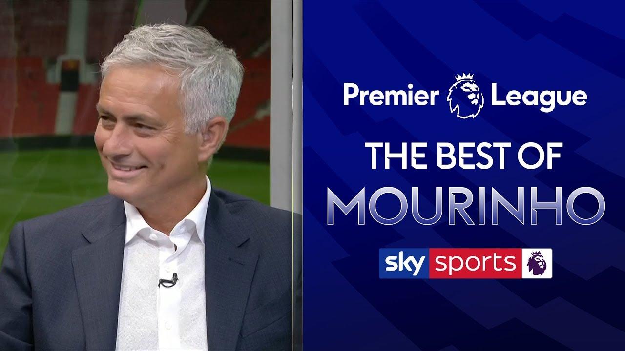 The Best of Jose Mourinho   Manchester United 4-0 Chelsea   Super Sunday