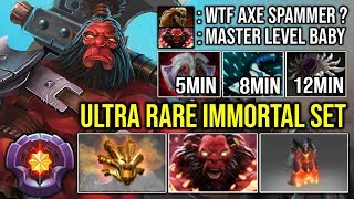 1Item Per 3Min - Easy Backdoor \u0026 Jungle Axe with Max Ultra Rare Immortal 22Kills Zero Death | DotA 2