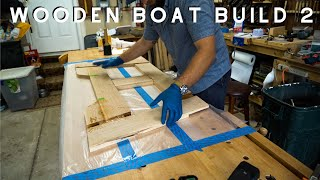 Wooden Boat Build // Part 2: Getting Lumber, Transom, and Frame
