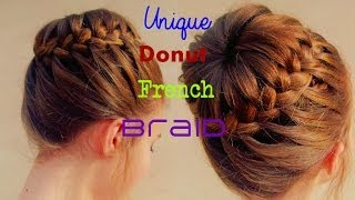 Unique Donut French Hairstyle | STELLA Thumbnail