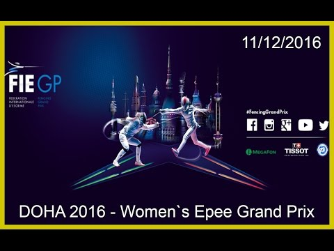 Women`s Epee Grand Prix Doha 2016 - Finals