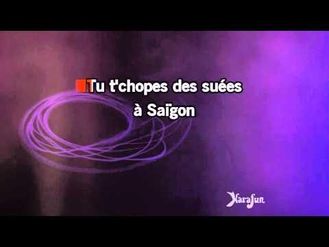 Karaoké Vertige de l'amour - Alain Bashung *