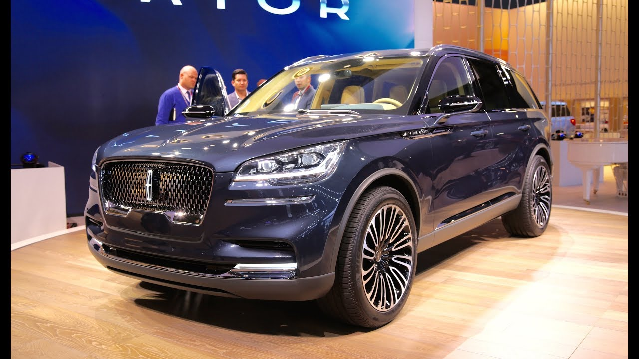 Lincoln Aviator Concept - FIRST LOOK - YouTube