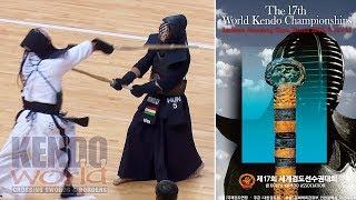 Men's Ind. 2R Hungary v.s. Korea - 17th World Kendo Championships (2018)