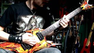 Raining Blood guitar cover - Slayer (HD) Uncensored...