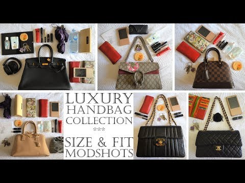 Review of my Designer Luxury Bag Collection - Hermes, Chanel, LV, Gucci, Prada & more!