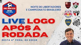 Veja como foi a LIVE com Mauro Cezar após a pífia atuação do Fla (Flu 2 a 1) e o vexame do São Paulo