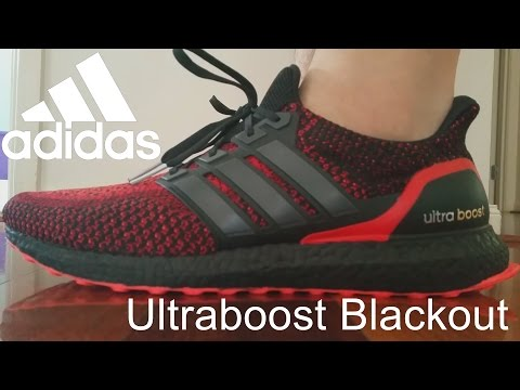 How To Black Out Adidas Ultra Boost Mid Sole Solar Red 2.0