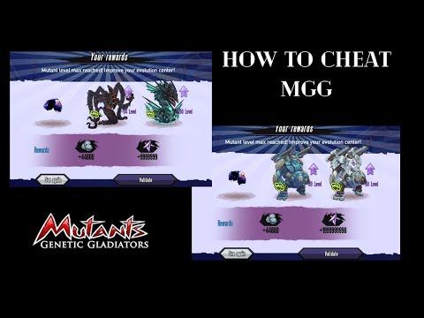 CARA CHEAT GAME MGG GAMPANG COY  !!! - Mutant Genetic Gladiator