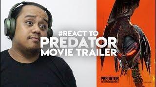 #zhafvlog - Day 188/365 - #react To The Predator Movie Trailer   Keegan Micheal Key
