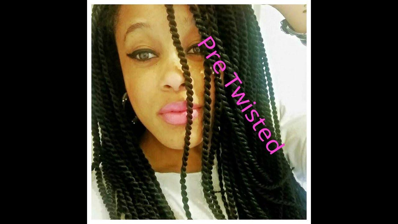 Crochet Twist Hair Uk : Crochet Braids Pre Twisted Senegalese - YouTube