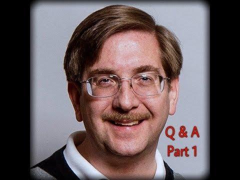 Christian Apologist Dr Tim McGrew Q&A (part 1 of 2)