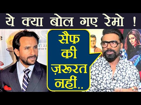 Race 3: Saif Ali Khan is NOT REQUIRED says, Remo D Souza ! | FilmiBeat Mp3