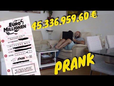 Lotto Prank an meinen Vater | Mertcan