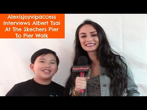 Dr Ken Star Albert Tsai Interview With Alexisjoyvipaccess - Skechers Pier To Pier Walk