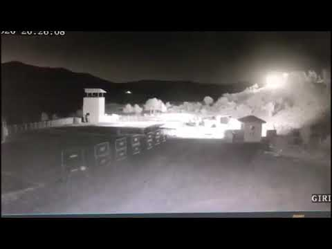 Erzurum'a Meteor - Göktaşı düştü! En net videosu