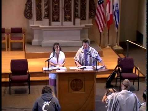 HUC Shacharit - August 28th - First Student Led T'fillah 2012-2013