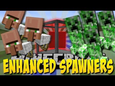 SUPER SPAWNER MOD! (Enhanced Spawners Mod) [Deutsch]