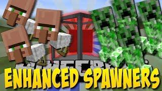 Unendliche Creeper Fabrik in Minecraft!