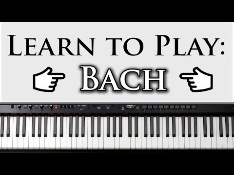 Learn to Play Bach's Prelude in C Major: Beginner Piano Lesson Video