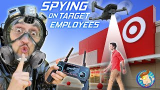 SPYING on TARGET Deliveries! Essential Supplies Drone! (FV Family Snake Camera Surprise Vlog)
