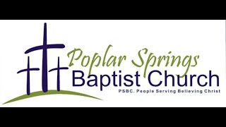 Poplar Springs Welcome Video