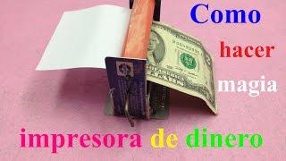 Cómo hacer dinero en la máquina impresora Truco de magia sencillo thumbnail