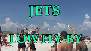 Most shocking fighter jets low flyover(flyby) &sonic boom moments Compilation