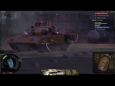 Armored Warfare: Greek Live Stream PVE grinding global reputation and damage (14/03/2017)