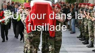 La Cavalcade ||| Chant militaire