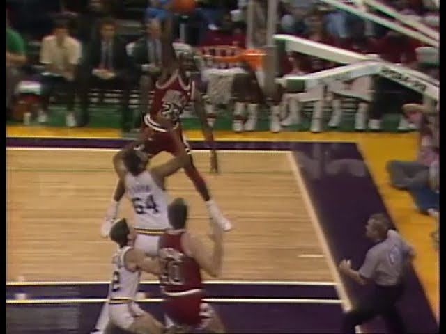 Dunk History Michael Jordan Mel Turpin And Was He Big Enough