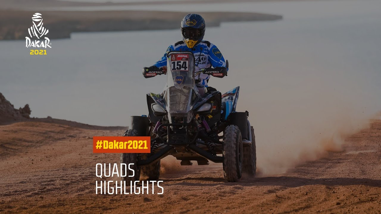 #DAKAR2021 - Quads Highlights