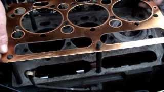 Wymiana uszczelki pod głowicą URSUS 3512, MF 255, Remont silnika MF 255, Perkins
